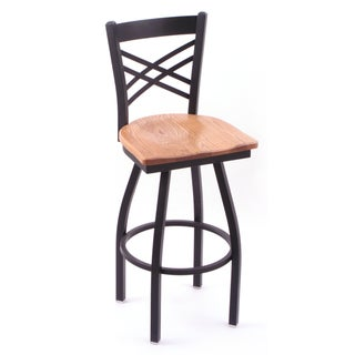 Cambridge 36-inch Black Finish Bar Stool