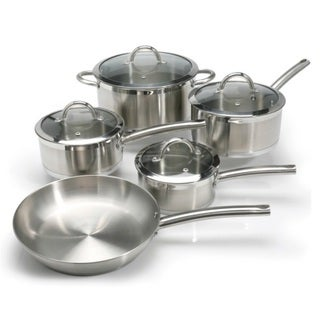 Stanley Rogers 9-piece Cookware Set