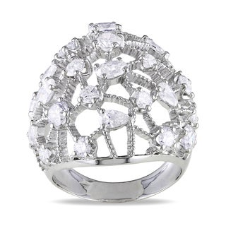 Miadora 14k White Gold 2 3/4ct TDW Diamond Ring (G-H, SI1-SI2)