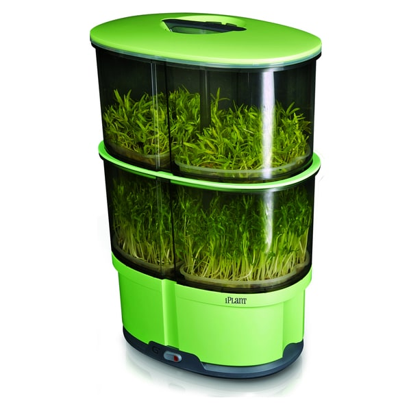 EcoQue iPlant 2 Level Sprout Garden