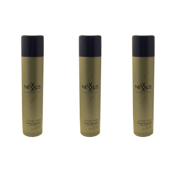 Nexxus Comb Thru Hold 15-ounce Natural Design and Finishing Mist (Set of 3)