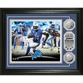 Detroit Lions Calvin Johnson 'NFL Single Season Receiving Record' Silver Coin Photomint