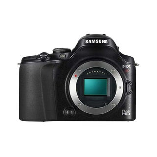 Samsung NX20 20.3MP Black Digital SLR Camera (Body Only)