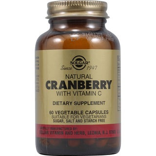 Solgar Cranberry Extract With Vit C 60-count Veggie Caps
