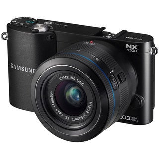 Samsung NX1000 20.3MP Mirrorless Digital Camera with 20-50mm Lens