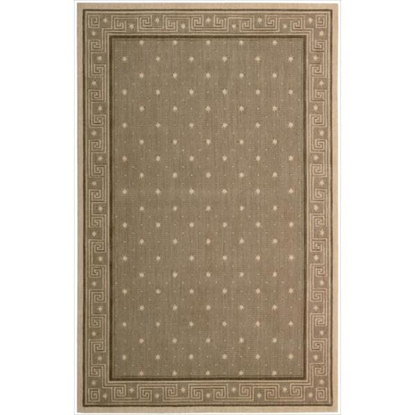 Cosmopolitan Chestnut Star Print Rug (8'3 x 11'3) - 8'3 x 11'3 10543201