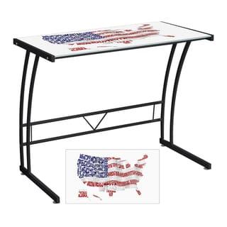 USA Printed Computer Desk/ Workstation
