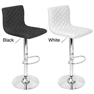 Caviar Adjustable Contemporary Barstool