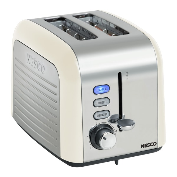 Nesco T1000-14 White 2-slice Toaster