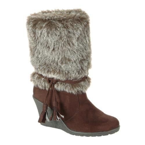 Women's L & C Alaskaa-Df Brown