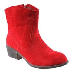Women's L & C Calico-2-Sm Red