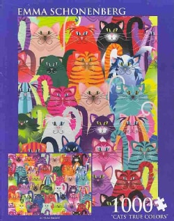Cats' True Colors: 1,000 Pieces (General merchandise)