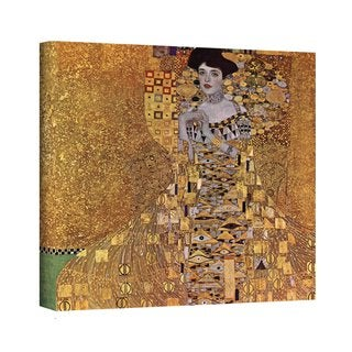 Gustav Klimt 'Portrait of Bloch Bauer' Gallery Wrapped Canvas