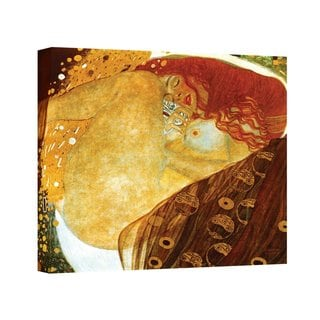 Gustav Klimt 'Danae' Gallery Wrapped Canvas