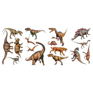 Dinosaurs Peel & Stick Wall Decal Art