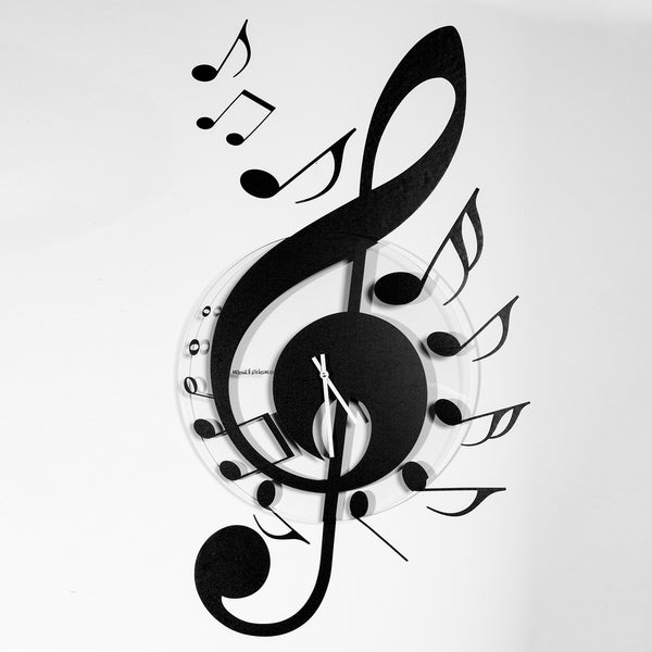 Maxwell Dickson 'Music Notes' 15-inch Wall Clock