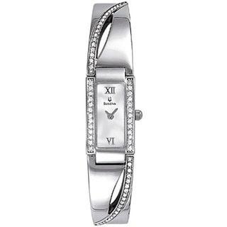 Bulova Women's 96T63 Crystal-accented Bracelet Watch