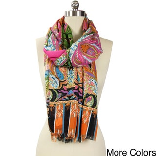 Saachi Women's Paisley Scarf (China)