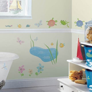 Hoppy Pond Peel & Stick Wall Decal Art