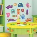 Monsters Peel & Stick Wall Decal Art
