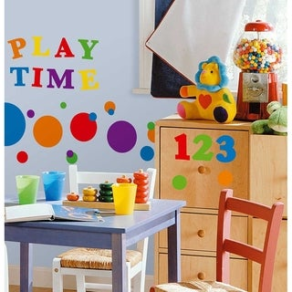 Numbers Primary Peel & Stick Wall Decal Art