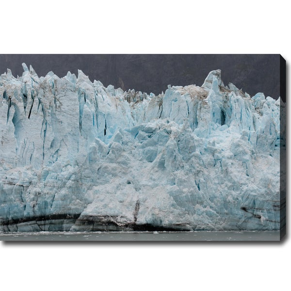 The Blue Glacier in Alaska Canvas Art