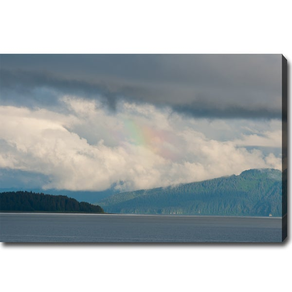 'The Wild Alaska' Canvas Art
