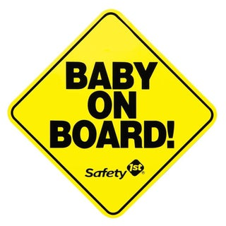 Safety 1st 'Baby On Board' Sign Magnet