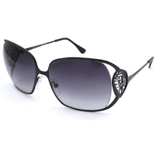 Emilio Pucci Women's Black Round Fashion Sunglasses