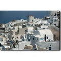 'Oia, Santorini' Gallery-wrapped Canvas Art