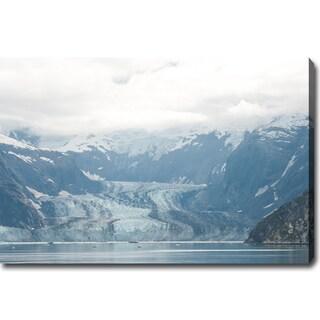 'Glaciers of Alaska' Gallery-wrapped Canvas Art