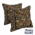 Tapestry Corded &#39;Potpourri&#39; Throw Pillows (Set of 2)