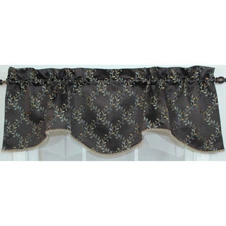 RLF Home Tahoe Chocolate Bravo Valance