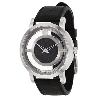 Movado Men's 0606567 Translucent Museum Watch