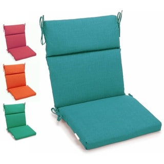 Blazing Needles 45 x 22-inch Outdoor Spun Poly Three-section Back / Seat Chair Cushion