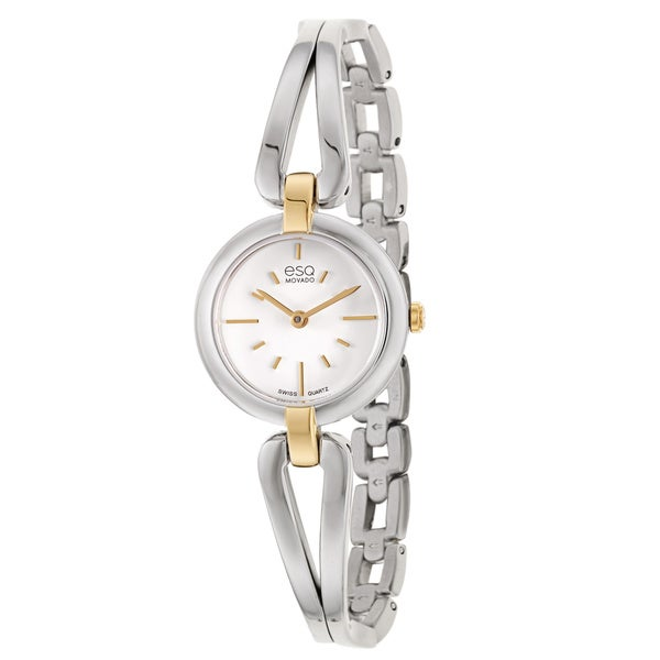 ESQ by Movado Women's 07101396 'Corbel' Two-Tone Stainless Steel Watch