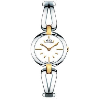 Movado Women&#39;s &#39;ESQ Corbel&#39; Two-tone Stainless Steel Watch
