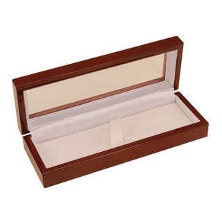Burgundy Lacquered Fine Writing Pen Gift Display Box