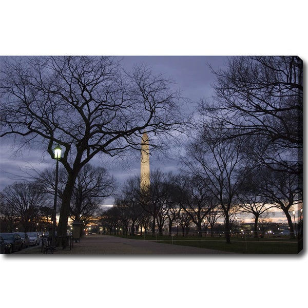 'The Washington Monument' Canvas Art