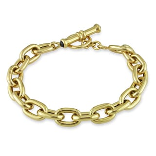 Miadora 18k Yellow Gold Black Onyx Bracelet