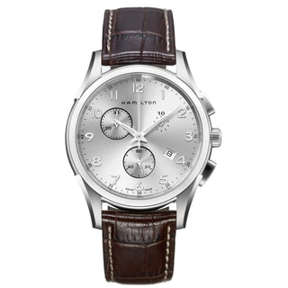 Hamilton Men's 'Jazzmaster' Thinline Chronograph Watch