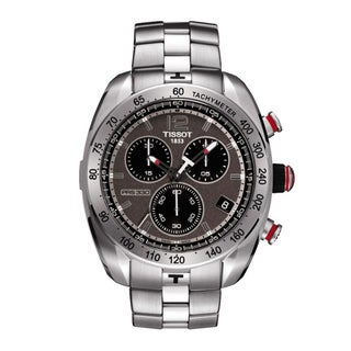 Tissot Men's 'PRS 330' Anthracite Dial Chronograph Watch