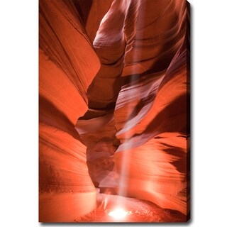 'The Amazing Antelope Canyon' Gallery-Wrapped Canvas Art