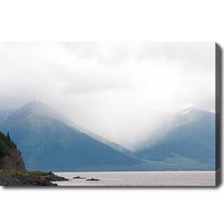 'Alaska Mountains' Canvas Art