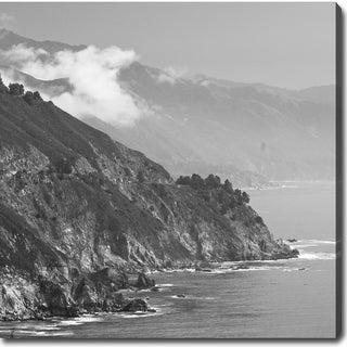 'The Wild California Central Coast - Big Sur' Canvas Art
