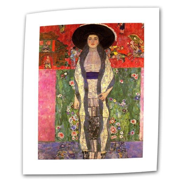 Gustav Klimt 'Adele Bloch Bauer' Flat Canvas Art
