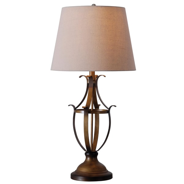Tisbury Copper Table Lamp