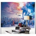 Star Wars Saga Chair Rail Prepasted Wall Art Mural (6' x 10.5')