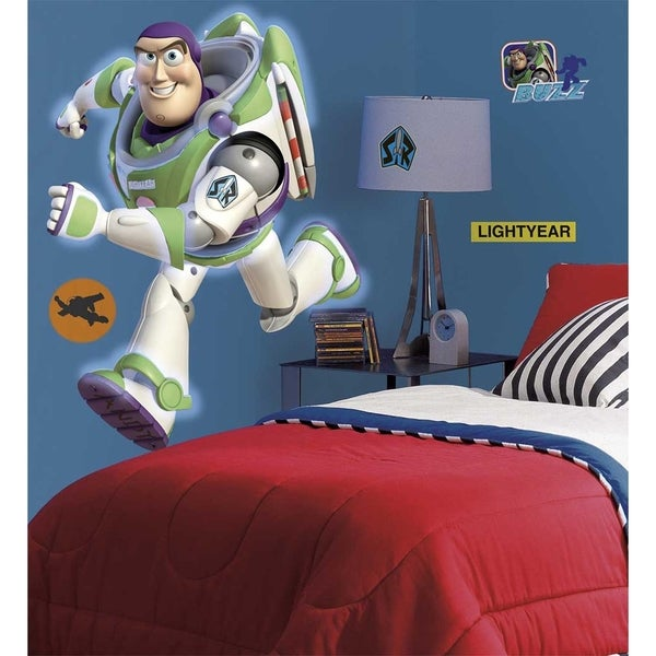 Toy Story Buzz Peel & Stick Giant Wall Decal Art