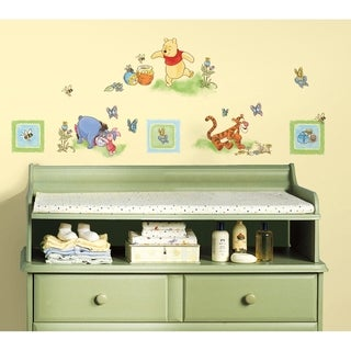 Winnie the Pooh Toddler Peel & Stick Wall Decal Art